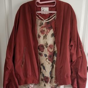 Set Jacket 3x and floral top 2X